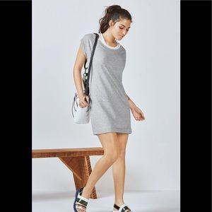 Fabletics Tasha Mini Dress Grey Size Small workout